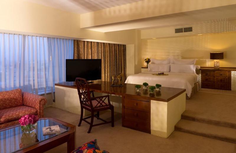 Guest suite at Fiesta Americana Guadalajara.