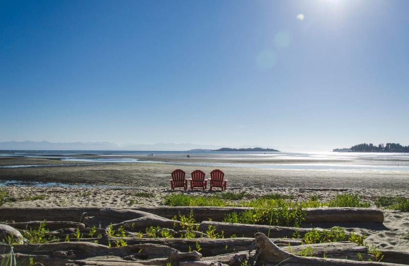Beach at Ocean Trails Resort.