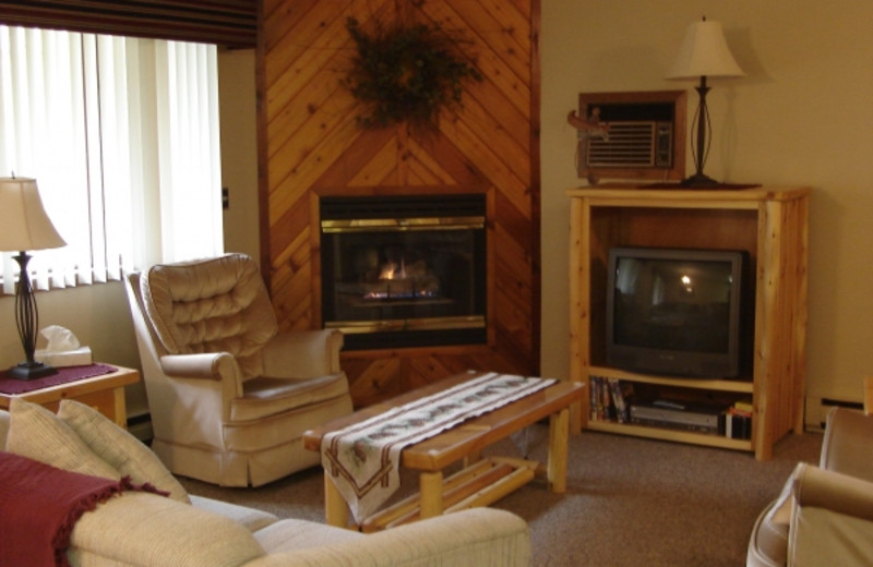Condo Living Room at Pine Mountain Resort