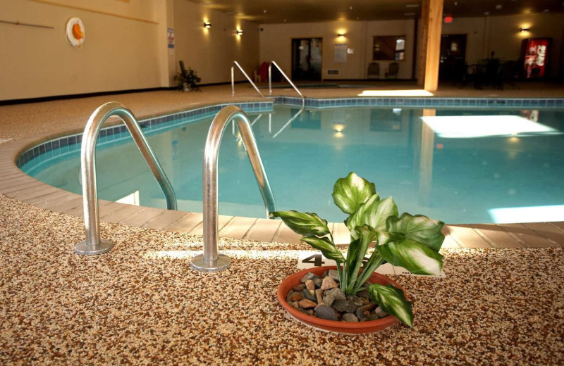 Indoor pool at Whitefish Lodge & Suites.