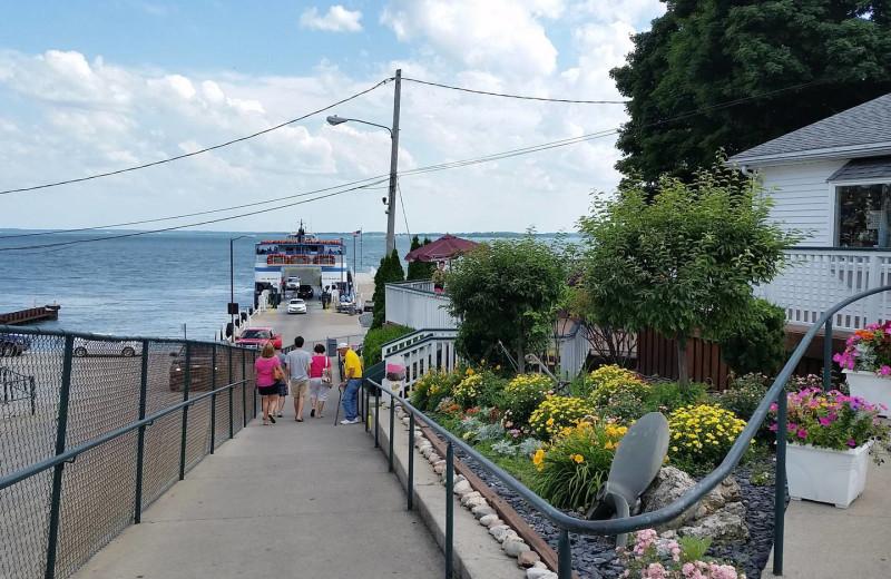 Dock at Island Club Rentals.