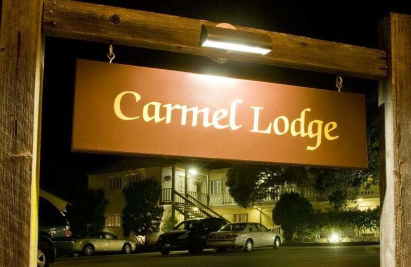 Exterior view of Carmel Lodge.