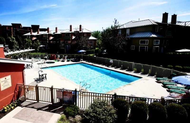 Outdoor pool at Manteo Resort Waterfront Hotel & Villas.