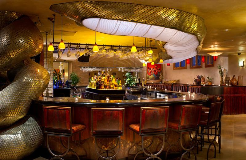Bar at El Monte Sagrado.
