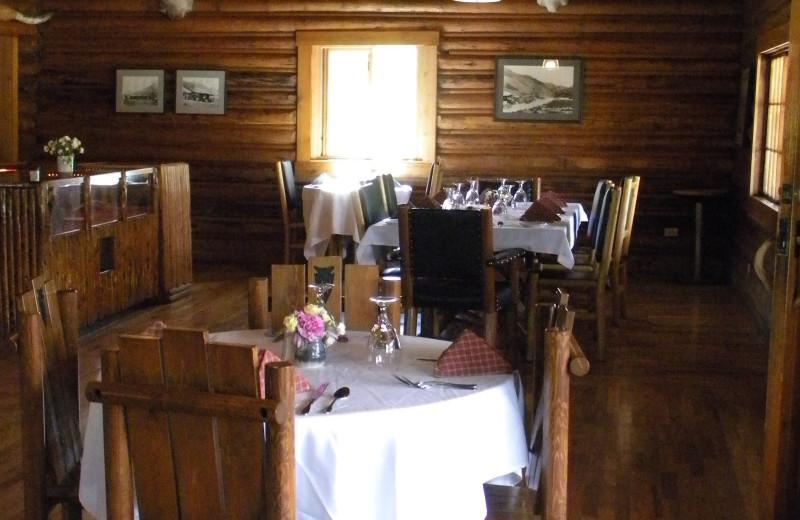 Restaurant at Trail Shop Restaurant and Inn.