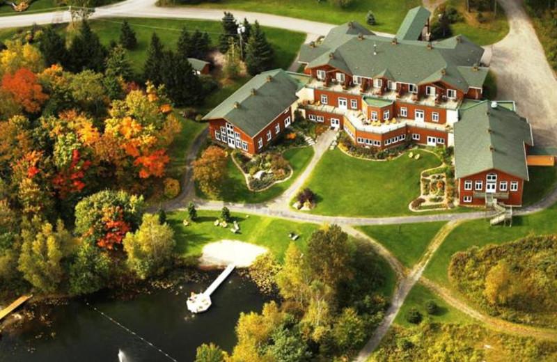 Aerial view of Spa Eastman Health & Wellness Retreat.