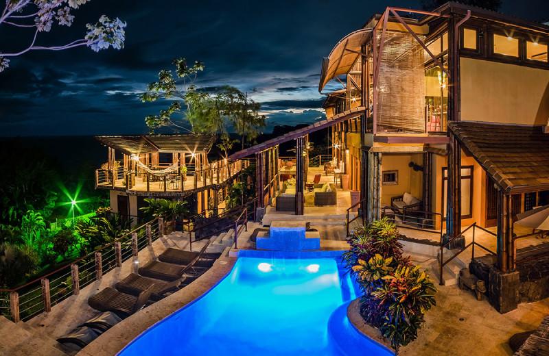 Outdoor pool at Casa Ramon Vacation Home & Spa Resort.