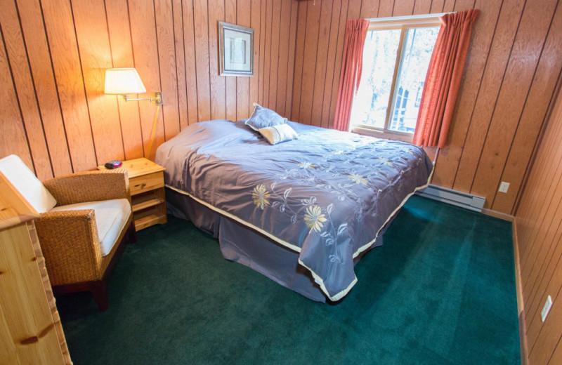 Bedroom at Krueger's Harmony Beach Resort.
