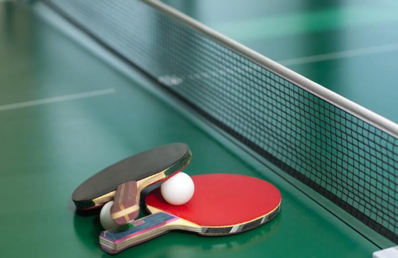 Ping Pong at Westgate Branson Woods Resort.