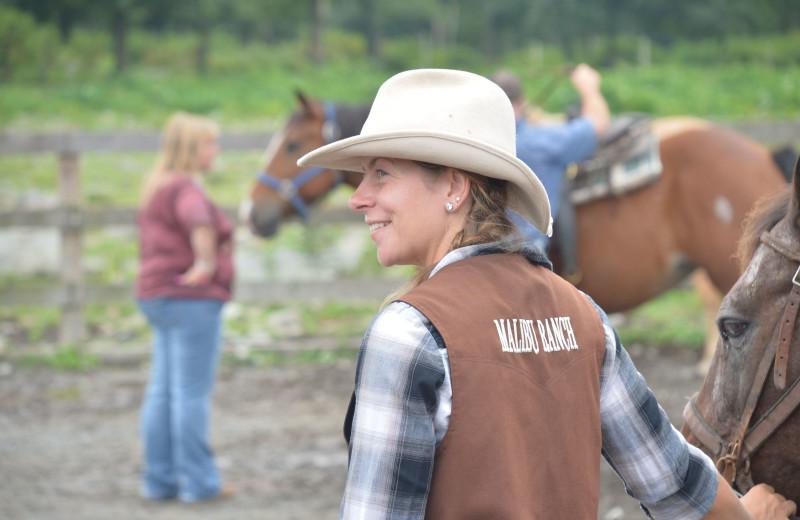 Horseback Riding Lessons at Malibu Dude Ranch