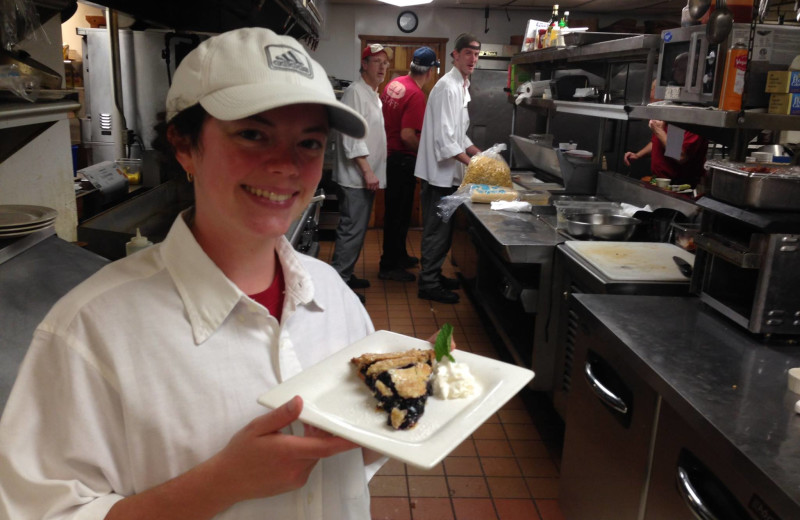Chef at Gunflint Lodge.