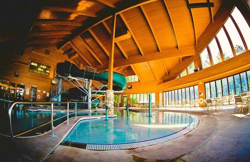 Water park at Grand View Lodge.