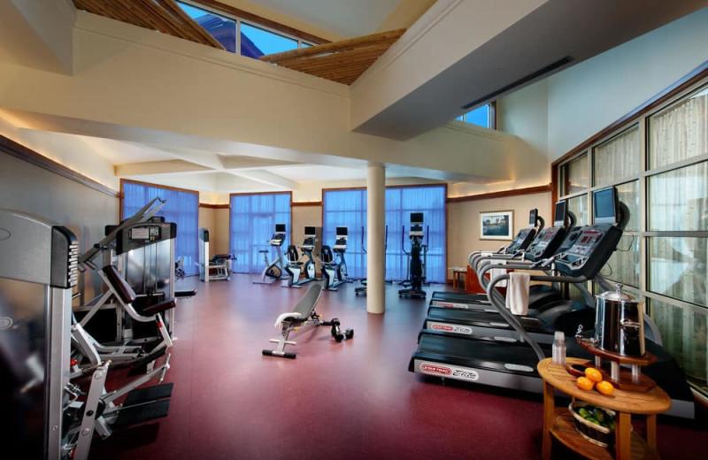 Fitness room at Turning Stone Resort Casino.