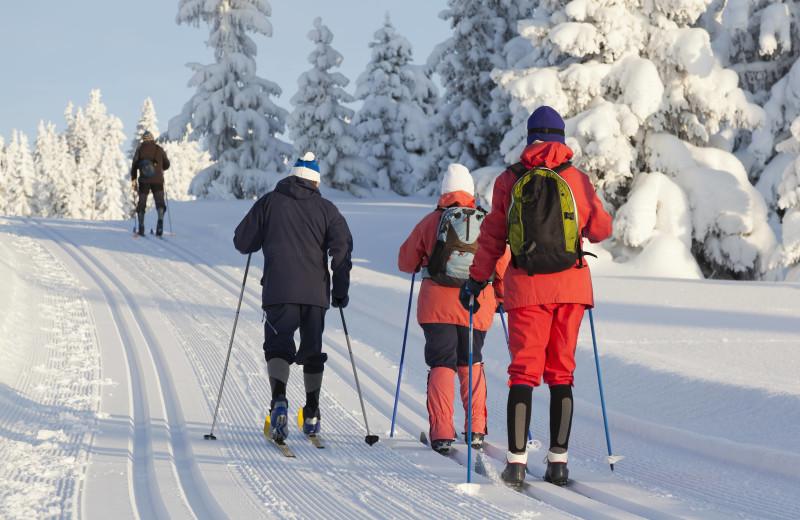 Skiing at Adair Country Inn.