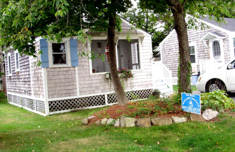 Rental exterior at Saco Bay Rentals. Buxton rental unit, 2 bedrooms.