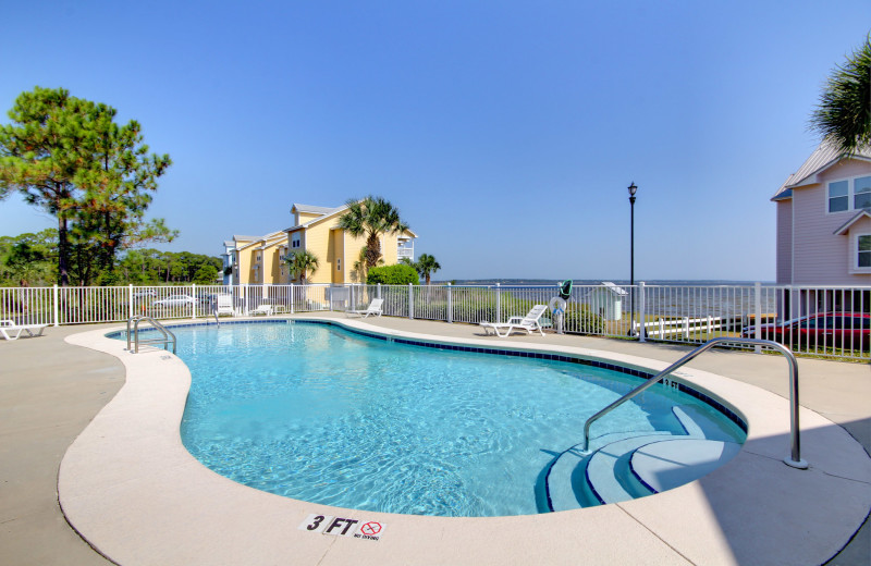 Outdoor pool at Vacation Homes Perdido Key.
