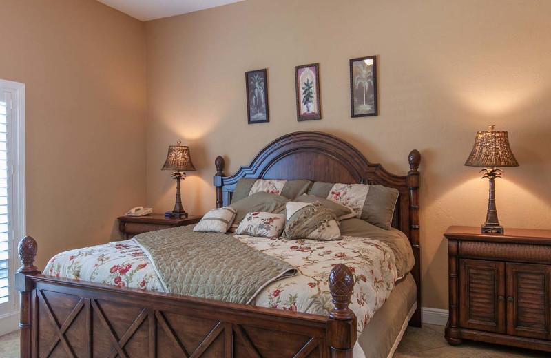 Guest room at Tropical Breeze Resort.