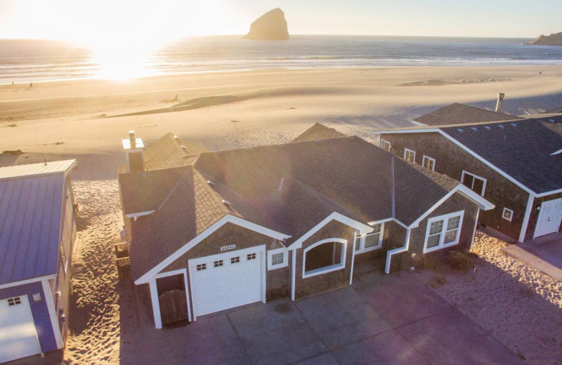 Rental exterior at Kiwanda Coastal Properties.