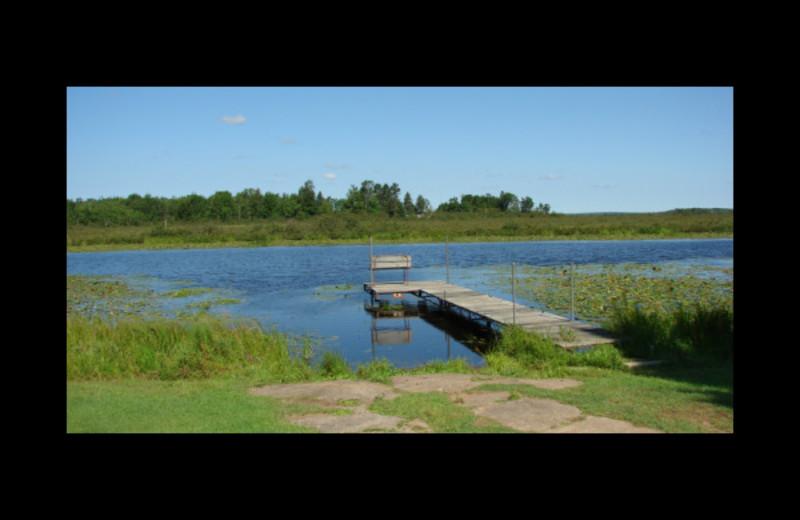 Lake at Reel'Em Inn.