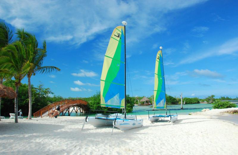 Beach at Hacienda Tres Rios.