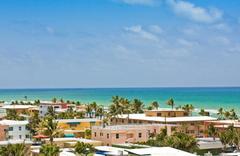 Beach view at Walkabout Beach Resort.