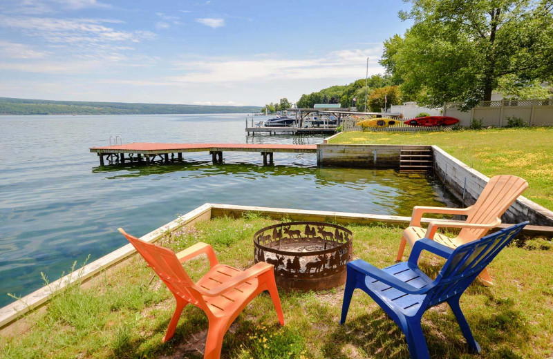 Rental beach at Finger Lakes Premiere Properties.
