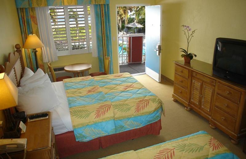 Guest room at Holiday Inn Beach Resort Sanibel Island.