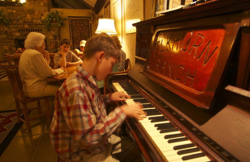 Piano at Elkhorn Ranch.