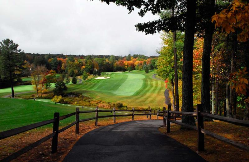 Fall golf at Woodloch Resort.