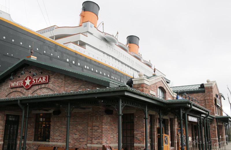The Titanic Museum near SmokyMountains.com.
