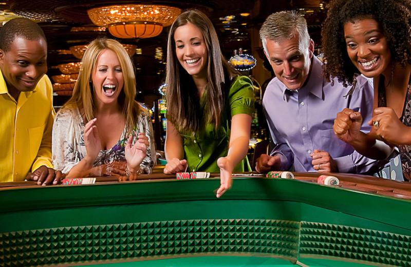 Gaming at Turning Stone Resort Casino.