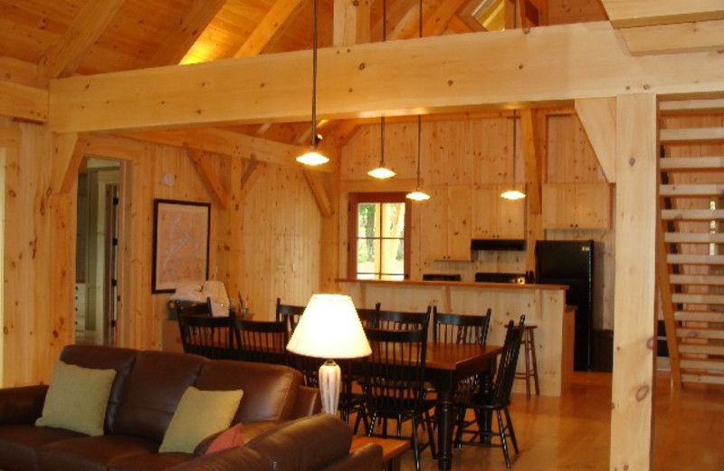 Chalet Interior at  Port Cunnington Lodge