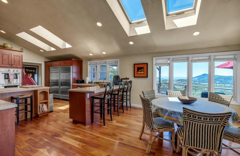 Rental kitchen at Woodfield Properties.