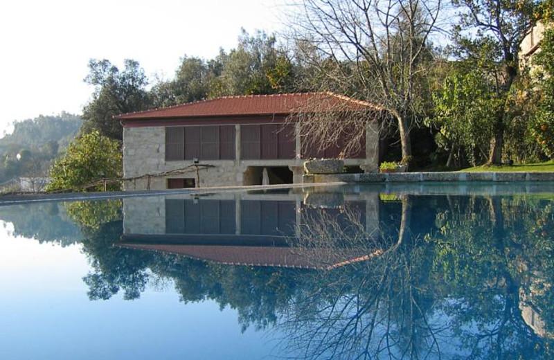 Outdoor pool at Casa de Alfena - Minho (Northern Portugal).