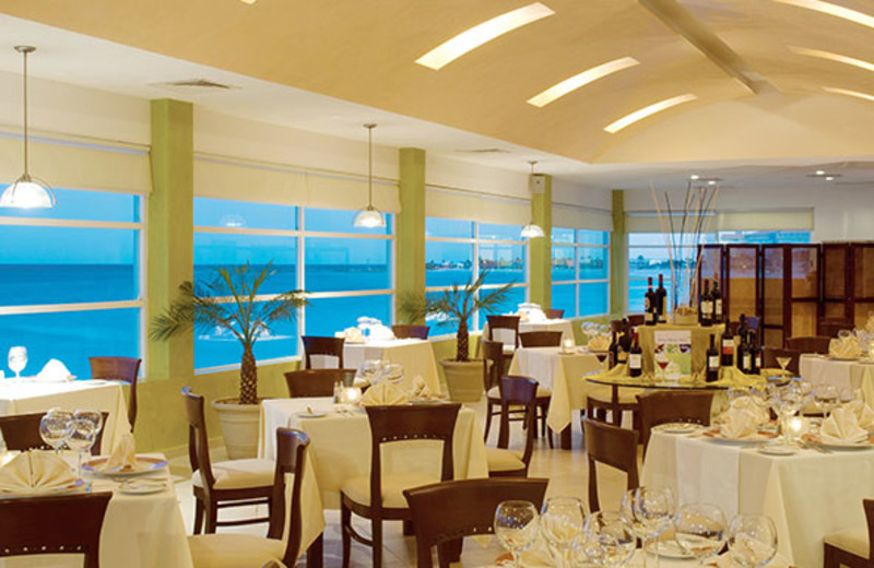 Dining at Hotel BelleVue Beach Paradise.