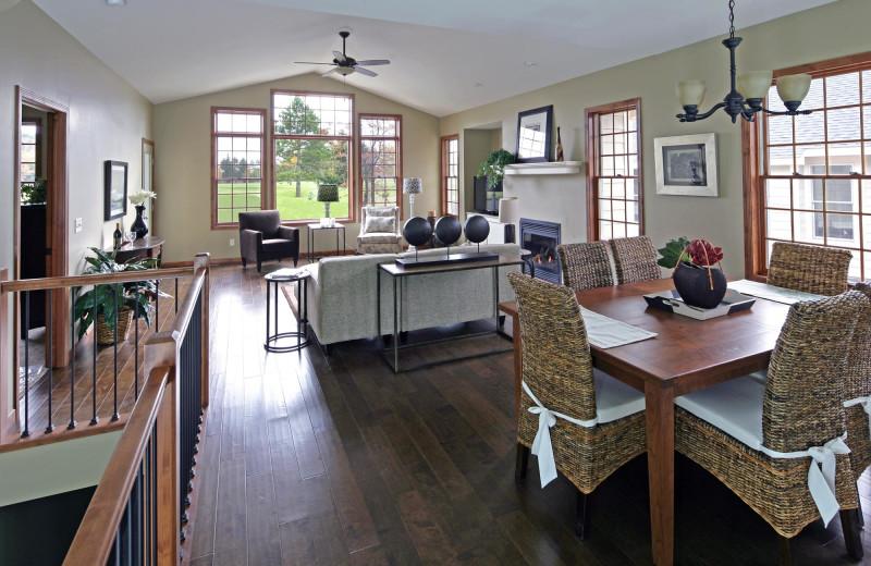 Vacation rental interior at Breezy Point.