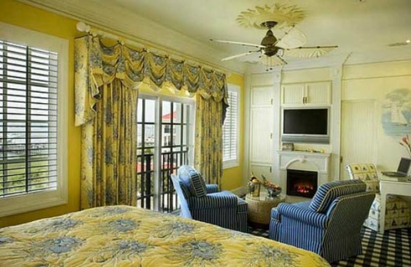 Deluxe King Room at  Charleston Harbor Resort