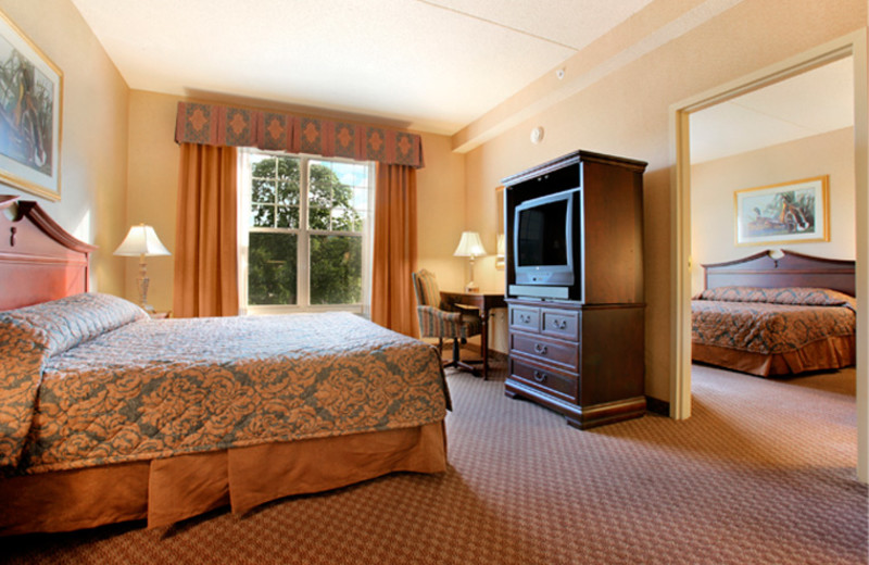 Guest Suite at the Fort William Henry Resort