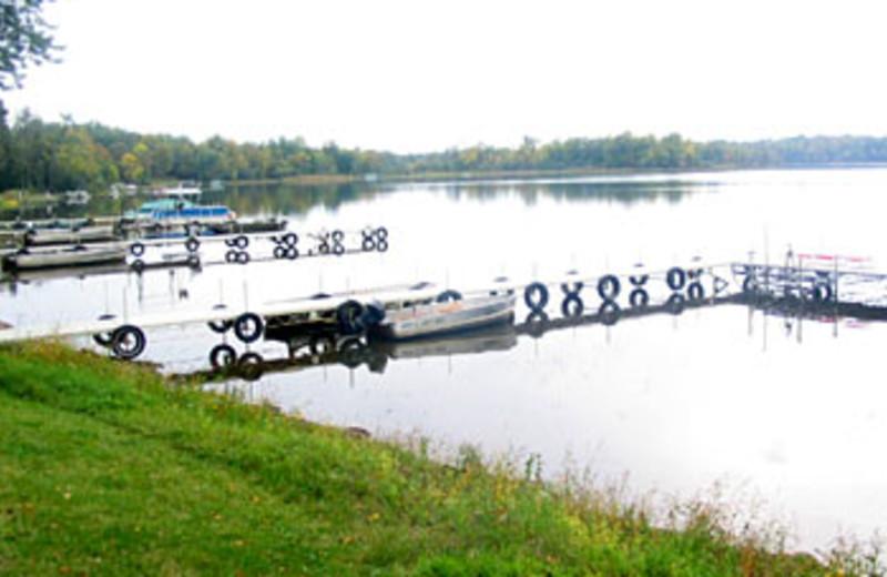 Boats on the Lake at Sunset Bay Resort