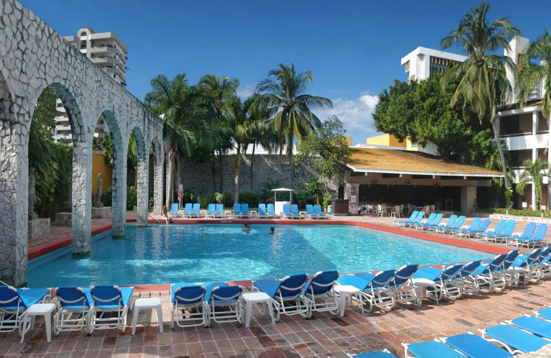 Outdoor pool at Granada Country Club.