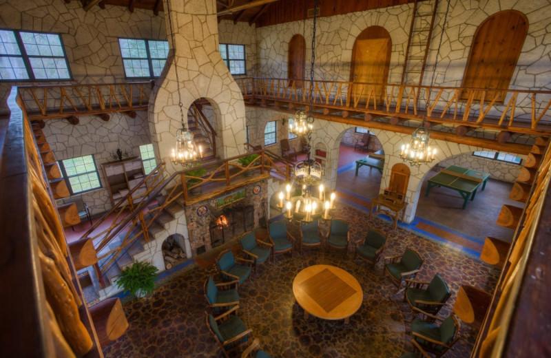 Lobby at Mo-Ranch.