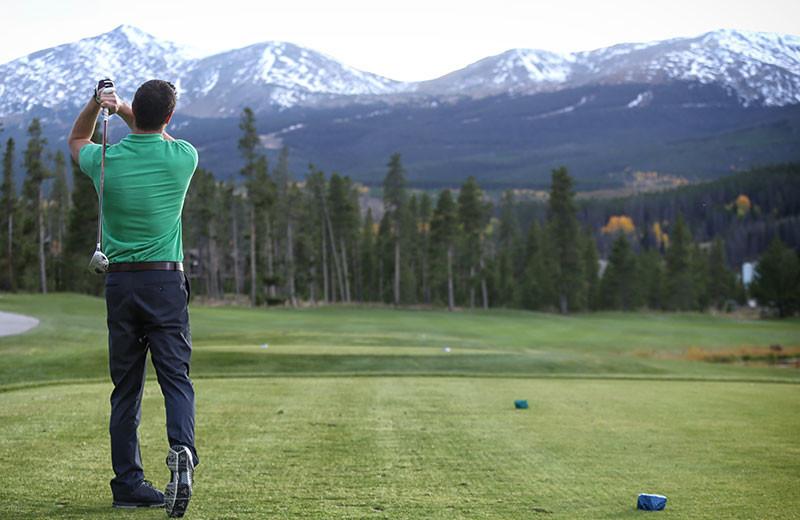 Golf course at Grand Colorado on Peak 8.