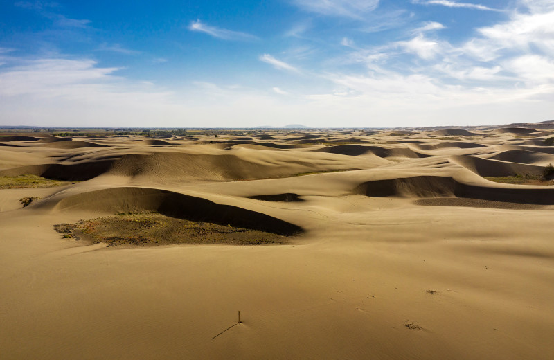 St. Anthony Sand Dunes near Rocky Mountain Elk Ranch.