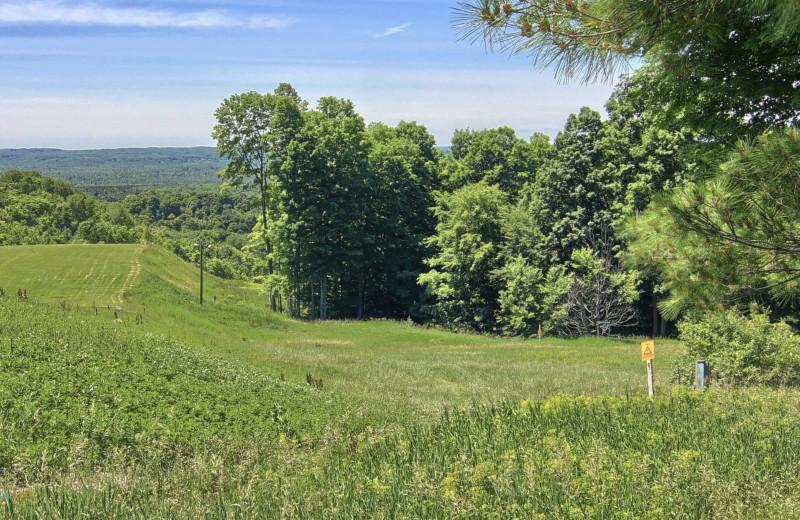 View from Hawk's Eye Golf Resort.