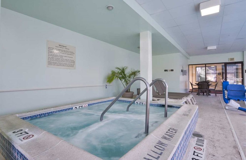 Hot tub at Hampton Inn Jim Thorpe/Lehighton.