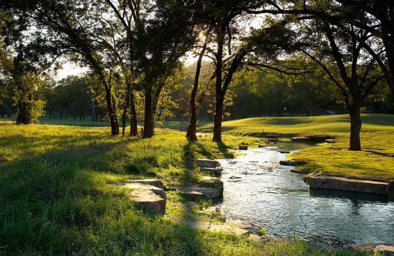 Golf course at Hyatt Regency Lost Pines Resort and Spa.