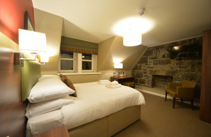 Guest room at Portree Hotel.