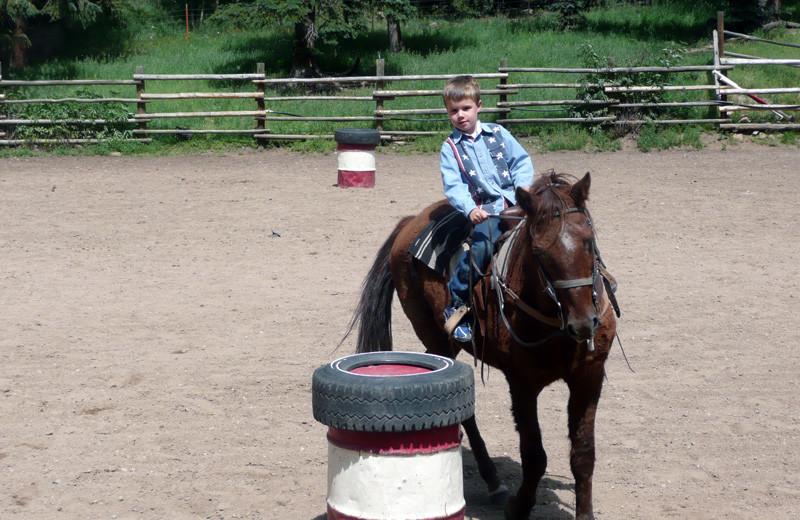 Rodeo at Tumbling River Ranch.