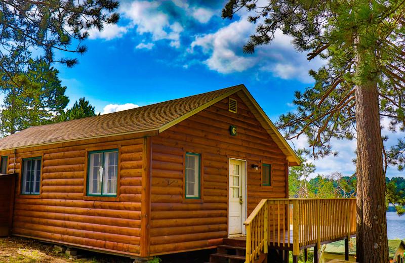 Cabin exterior at Wilderness Resort Villas.
