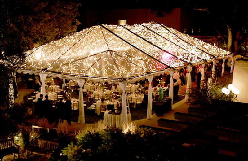 Wedding venue at La Posada de Santa Fe Resort & Spa.